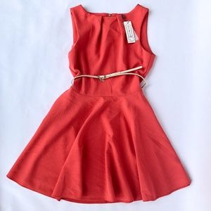 Coral Dress by Closet. London- Size 10 NWT